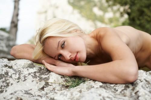 7 Красивые ню фото с блондинкой