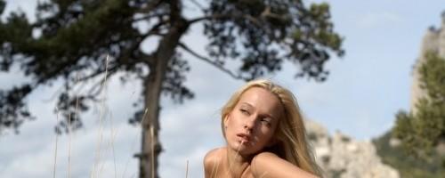 preview Красивые ню фото с блондинкой
